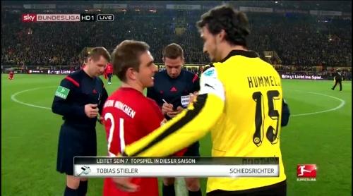 Philipp Lahm – Dortmund v Bayern 4