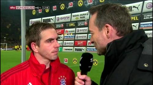 Philipp Lahm – Dortmund v Bayern 6
