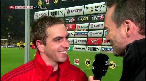 Philipp Lahm – Dortmund v Bayern 7