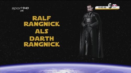Ralf Rangnick als Darth Rangnick