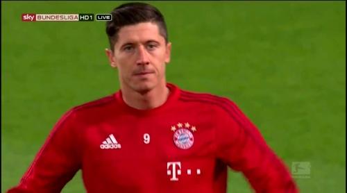 Robert Lewandowksi – Dortmund v Bayern 1