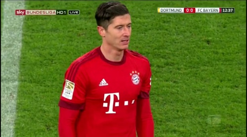 Robert Lewandowksi – Dortmund v Bayern 3