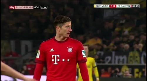 Robert Lewandowksi – Dortmund v Bayern 4