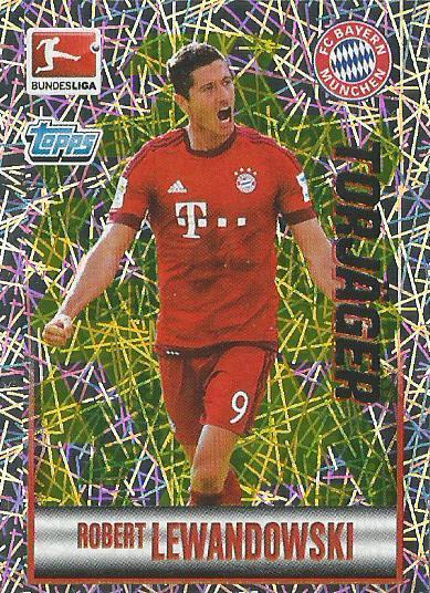Robert Lewandowski – Bayern München - Bundesliga 2015-16 sticker