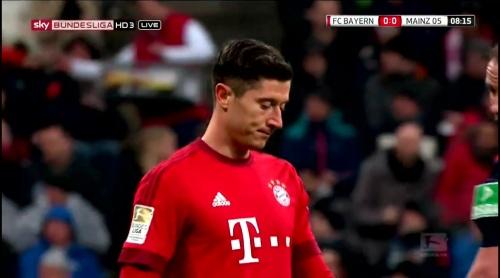 Robert Lewandowski – Bayern München v Mainz 1