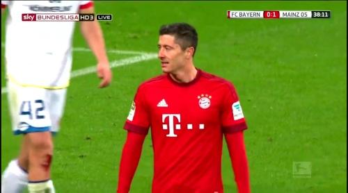 Robert Lewandowski – Bayern München v Mainz 3