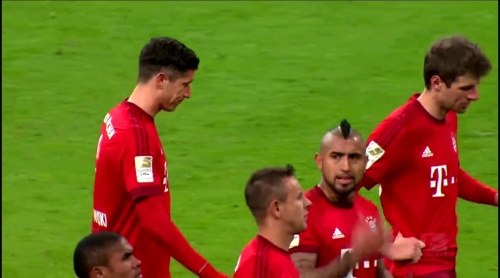 Robert Lewandowski & Thomas Müller – Bayern München v Mainz 1