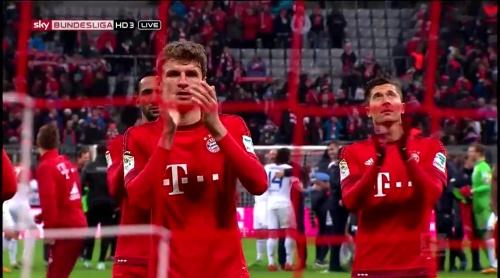 Robert Lewandowski & Thomas Müller – Bayern München v Mainz 2