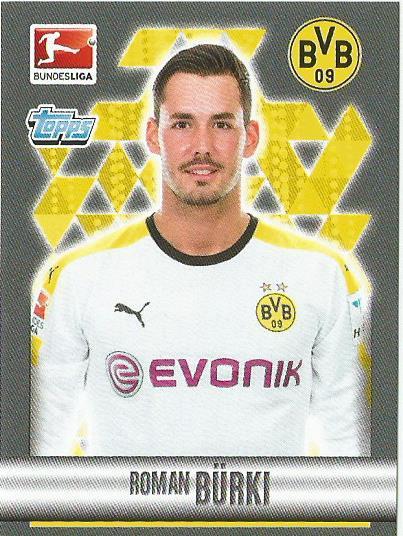 Roman Bürki – Borussia Dortmund – Bundesliga 2015-16 sticker