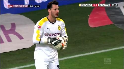 Roman Bürki – Dortmund v Bayern 2