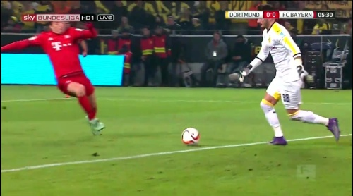 Roman Bürki – Dortmund v Bayern 4