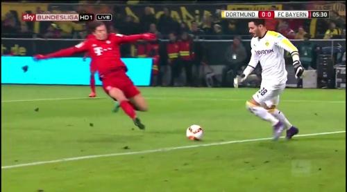 Roman Bürki – Dortmund v Bayern 5