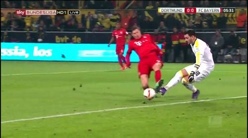 Roman Bürki – Dortmund v Bayern 6