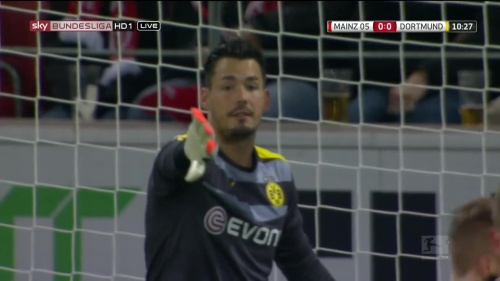 Roman Bürki – Mainz v Dortmund 3