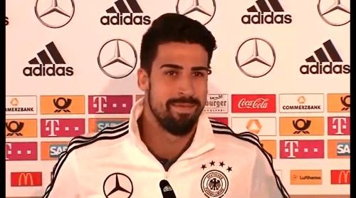 Sami Khedira - press conference 1