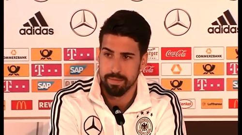 Sami Khedira - press conference 2