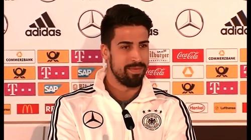Sami Khedira - press conference 3