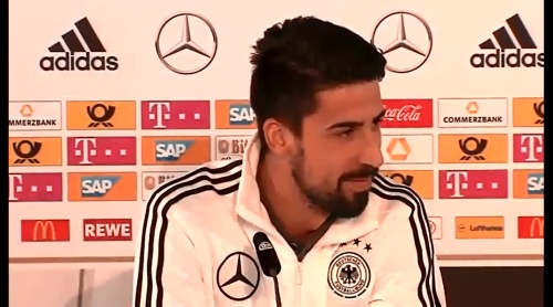 Sami Khedira - press conference 4