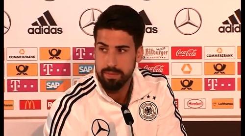 Sami Khedira - press conference 5