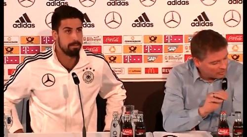 Sami Khedira - press conference 6