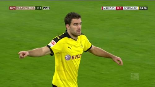 Sokratis – Mainz v Dortmund 1