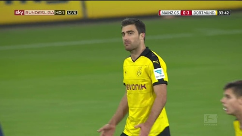 Sokratis – Mainz v Dortmund 2