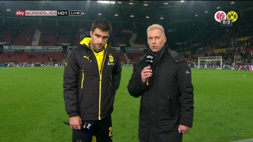 Sokratis – Mainz v Dortmund 3