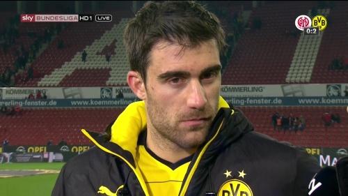 Sokratis – Mainz v Dortmund 4