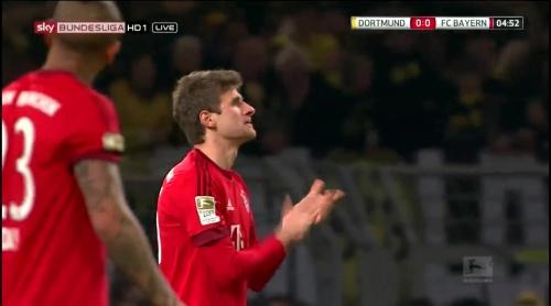 Thomas Müller – Dortmund v Bayern 1