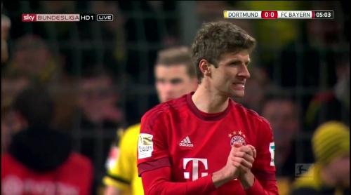 Thomas Müller – Dortmund v Bayern 2