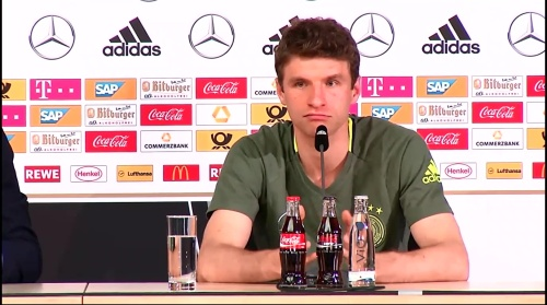Thomas Müller – press conference 2