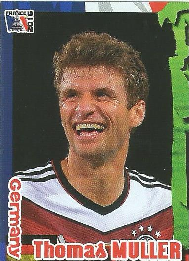 Thomas Müller - Germany - Euro 2016 Schoolshop sticker