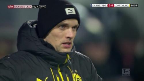 Thomas Tuchel - Darmstadt v Dortmund 2