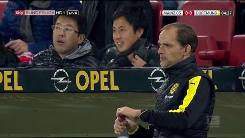 Thomas Tuchel – Mainz v Dortmund 1