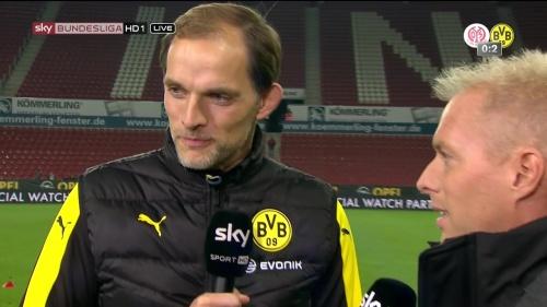 Thomas Tuchel – Mainz v Dortmund 2