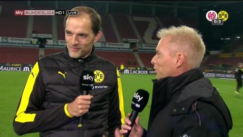Thomas Tuchel – Mainz v Dortmund 3