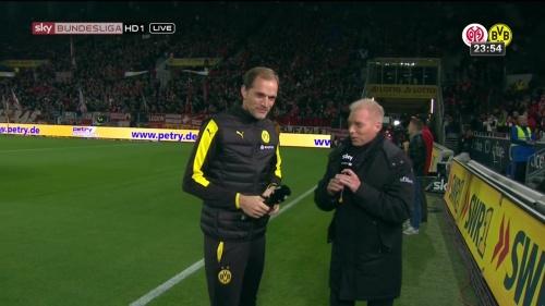 Thomas Tuchel – Mainz v Dortmund pre-match show 7