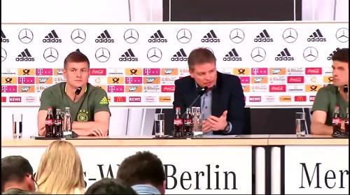 Toni Kroos – press conference 1