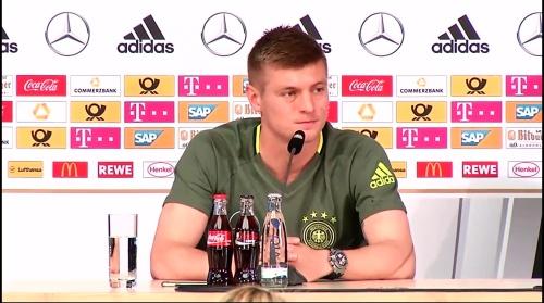 Toni Kroos – press conference 2