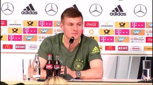 Toni Kroos – press conference 6