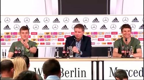 Toni Kroos & Thomas Müller – press conference 2