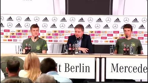 Toni Kroos & Thomas Müller – press conference 3