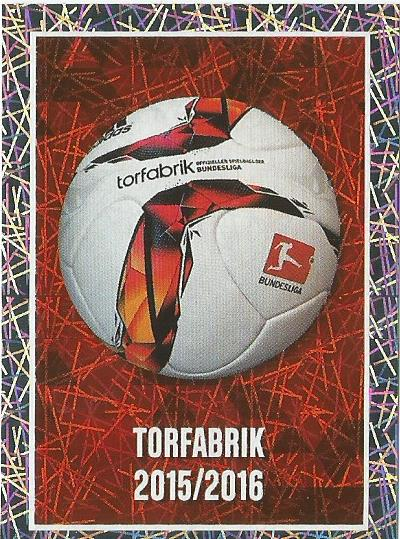 Torfabrik 2015-16 - Bundesliga 2015-16 sticker