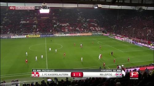 1.FC Kaiserslautern v RB Leipzig 15-16