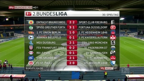 2.Bundesliga results MD30