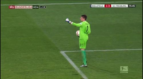 Alexander Schwolow – Arminia Bielefeld v SC Freiburg 10