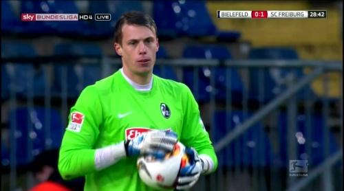 Alexander Schwolow – Arminia Bielefeld v SC Freiburg 3
