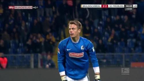 Alexander Schwolow – Braunschweig v SC Freiburg 8
