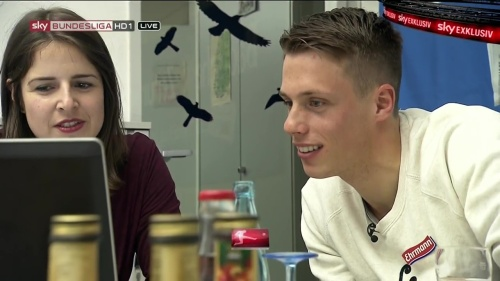 Alexander Schwolow – pre-match show – SC Freiburg v KSC 2