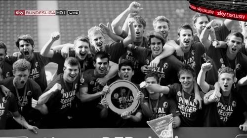Alexander Schwolow – pre-match show – SC Freiburg v KSC 5